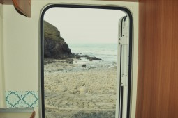 beach view motorhome hire cornwall